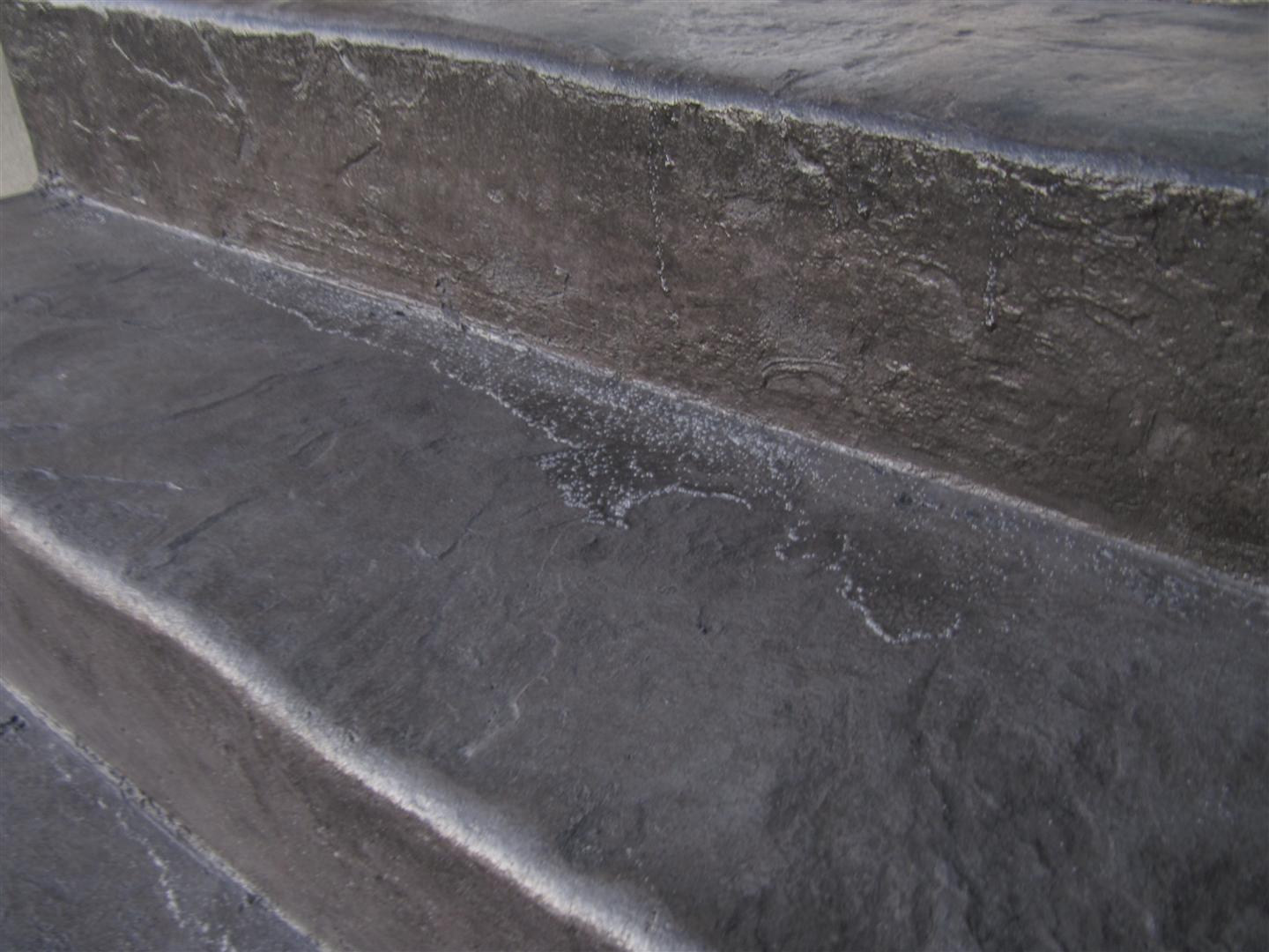 Poorly Done Stamped Concrete Decorative Concrete Forums